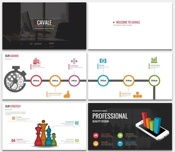 Cavale PowerPoint Animated Template PPT Design