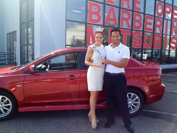Kaitlyn And Johnny Mac At Barberino Mitsubishi In Watertown 2013