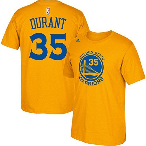 Cheap Kevin Durant Golden State Warriors Toddler Gold Jersey Name and Number T-shirt Father day sale