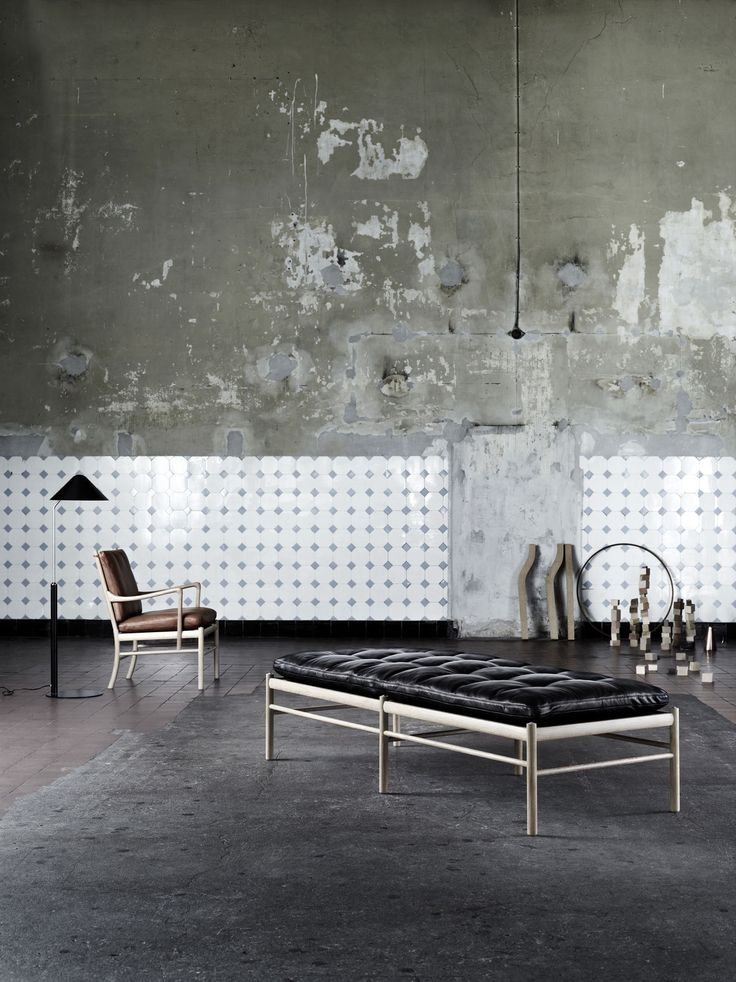 The OW150 daybed. Designed by Ole Wanscher #carlhansenandson