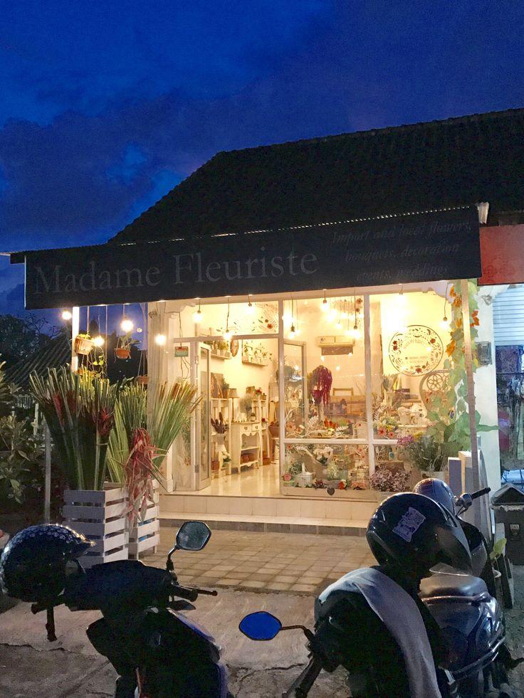 Madame Fleuriste shop in Bali