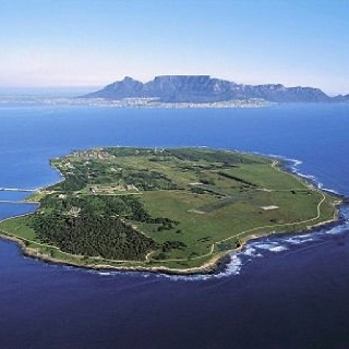 Robben Island-where Nelson Mandela was imprisoned for 18 years of his 27 years in prison for fighting apartheid.
