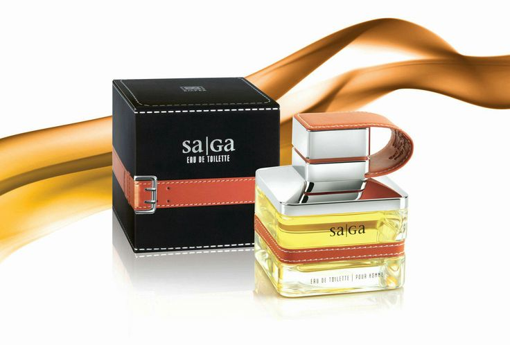 Emper Saga for Men Edt 100 ml. Bergamot, Floral Notes.