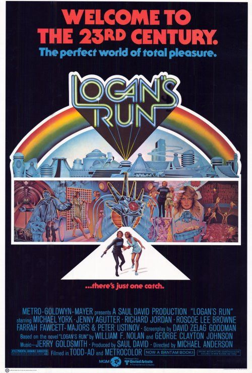 Logan's Run 11x17 Movie Poster (1976)