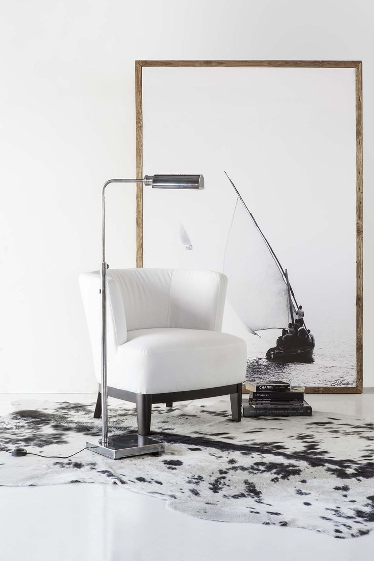 Square based antiqued standing lamp