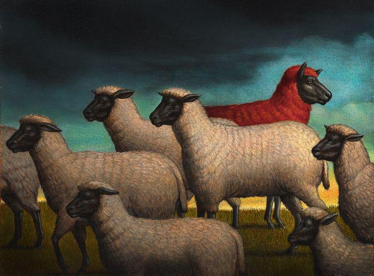 Pinturas e ilustrações surreais de Marc Burckhardt