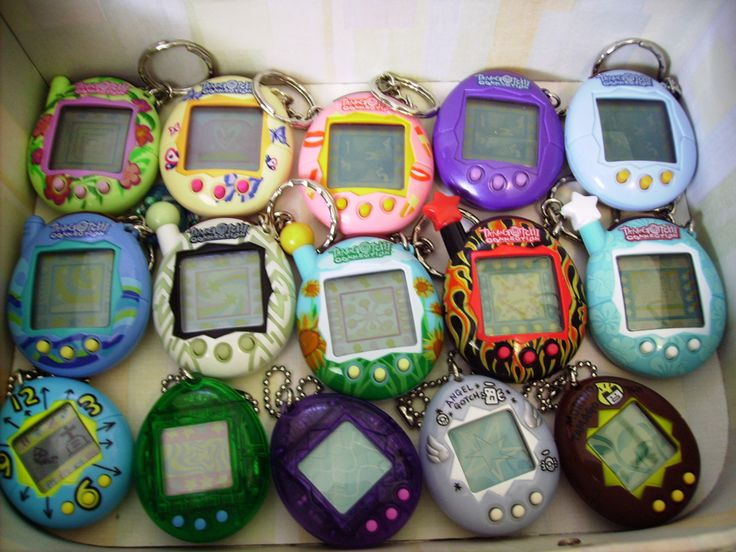 I miss my tamagotchi. I bet there's an app, but it wouldn't be as much fun without the egg.