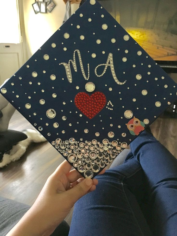 Medical assistant graduation cap ! Was pretty proud of it