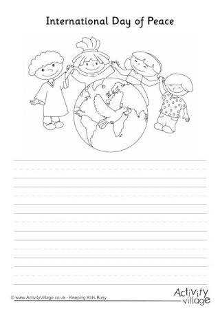 International Day of Peace Story Paper