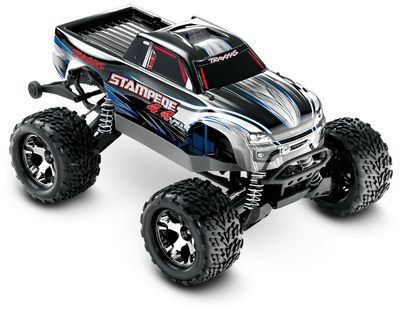 Model Rc Traxxas STAMPEDE VXL 4WD TQi 2,4GHz RTR 1:10 http://modele.germanrc.pl/pl/p/Traxxas-STAMPEDE-VXL-4WD-TQi-2%2C4GHz-RTR-110/5096