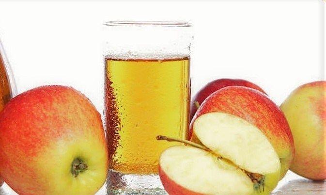 طريقة تحضير عصير التفاح Peach Fruit