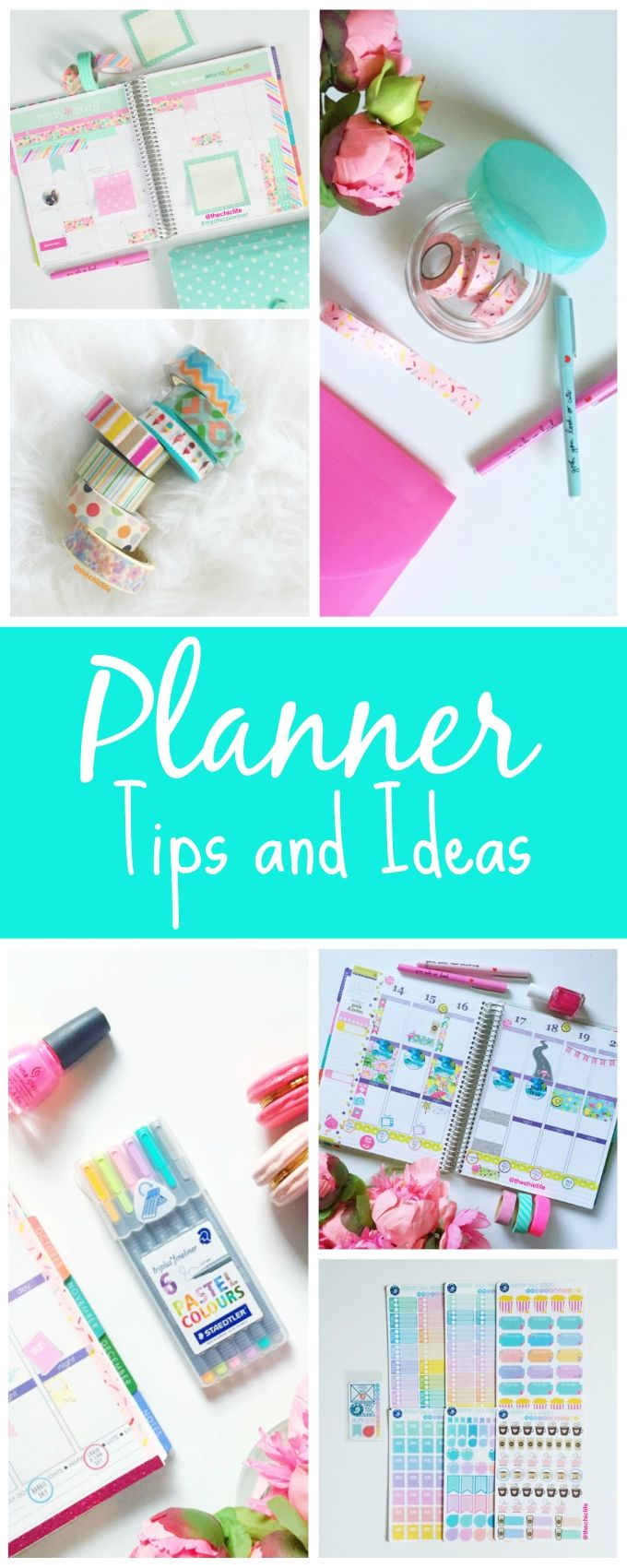 Planner Tips and Ideas - The Chic Life #mychicplanner