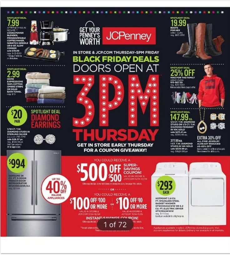 It's Here! Get The JC Penney 2016 Black Friday Ad! Black