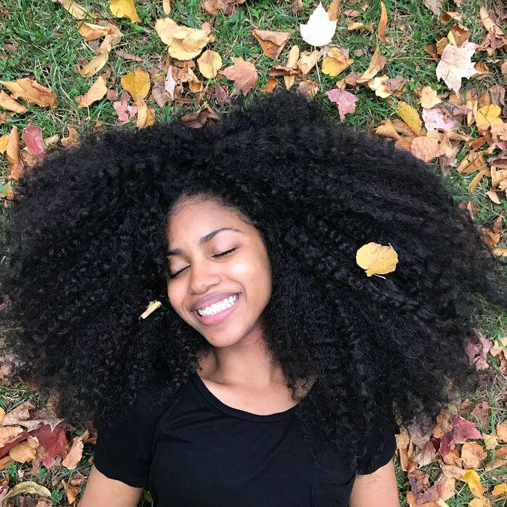Autumn  - #melanin #naturalhair #blackgirlmagic #curlyhair #curly #curlyhairstyles #bighairdontcare