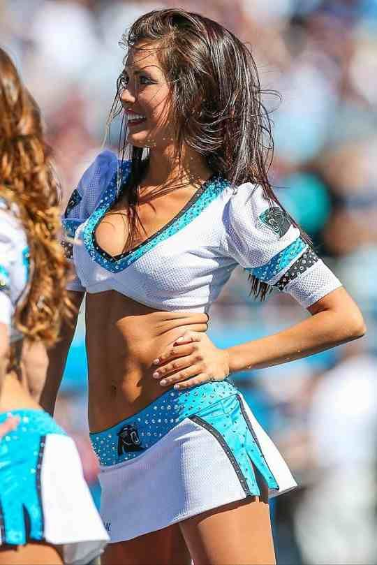 Carolina panthers cheerleaders.