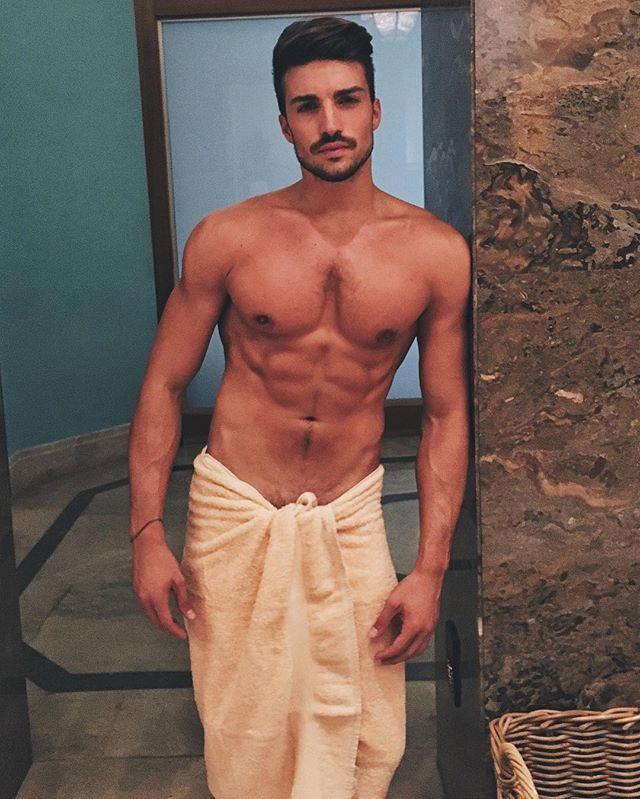 men s sauna hot shirtless