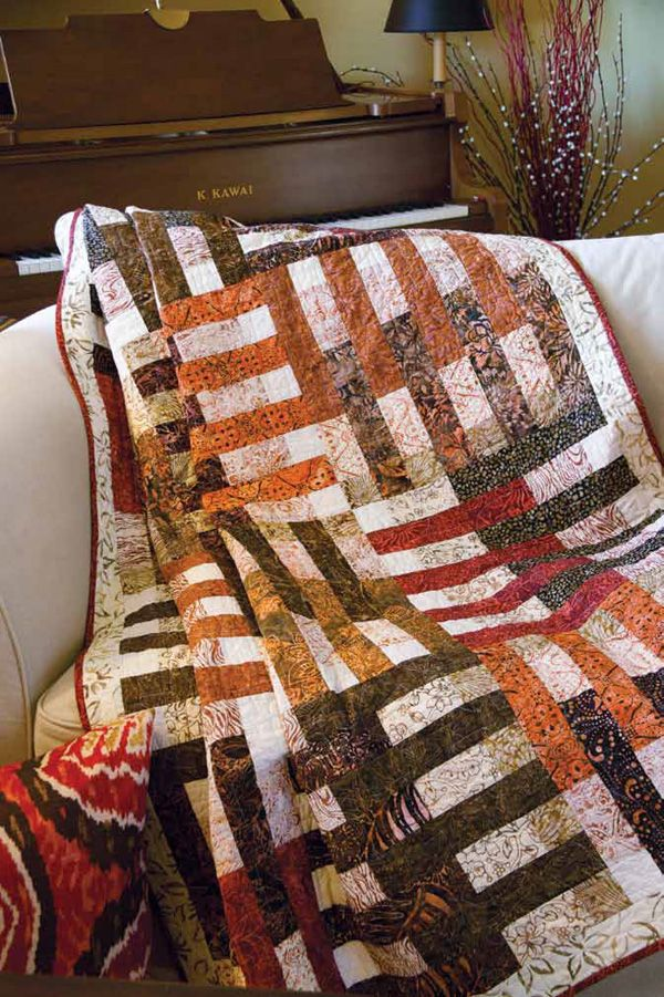 Friday Free Quilt Patterns: Nutmeg and Cinnamon