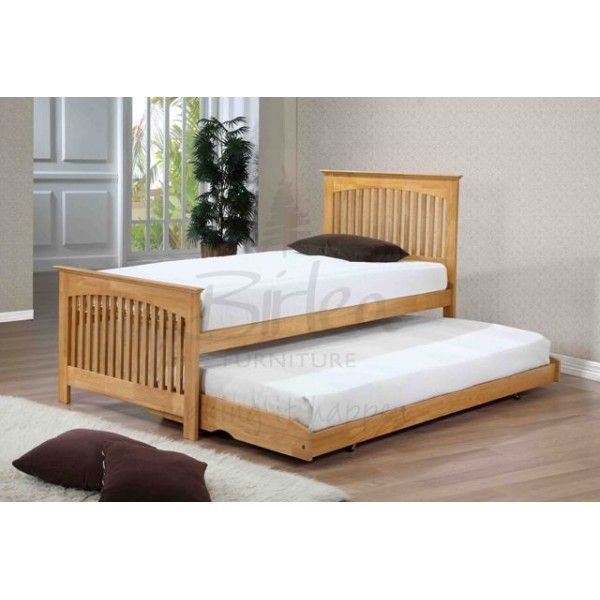 Cheap Trundle Beds | Home > Beds > Guest Beds > Birlea Toronto Oak Guest bed and Trundle