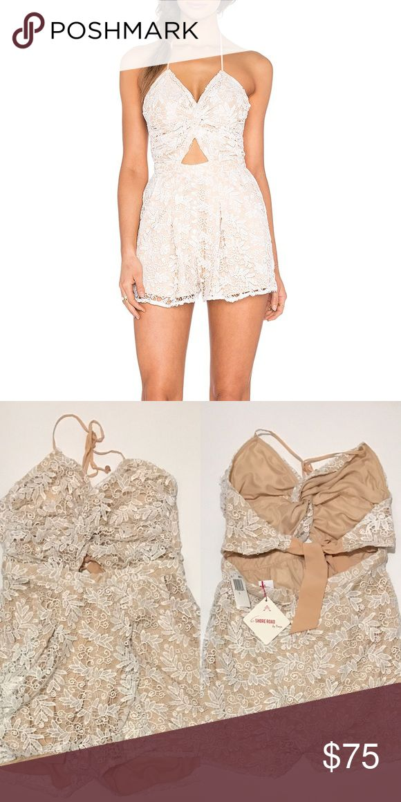 6 SHORE ROAD Skinny Dippers Lace Romper New with tags! 6 Shore Road Pants Jumpsuits & Rompers