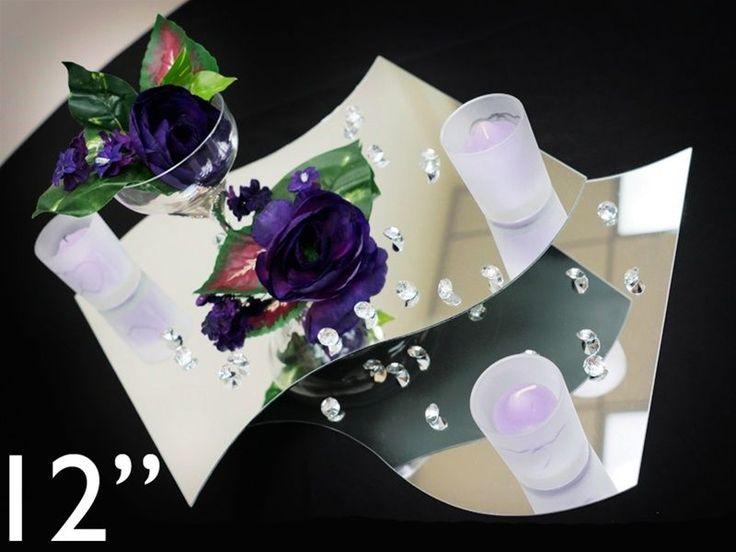 Best mirror wedding centerpieces ideas on pinterest