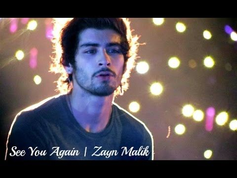 Zayn Malik | See You Again - YouTube // Oh WOW...Now I Have Two Reasons To Cry Over This Song...Why did you do this to me?? Beautifully Done Though I Love It.