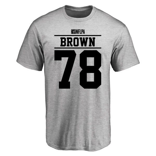 Charles Brown Player Issued T-Shirt - Ash - $25.95