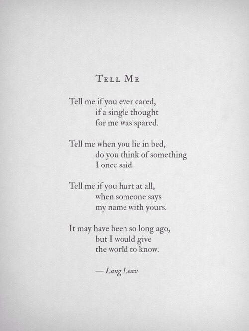 Lang Leav quote