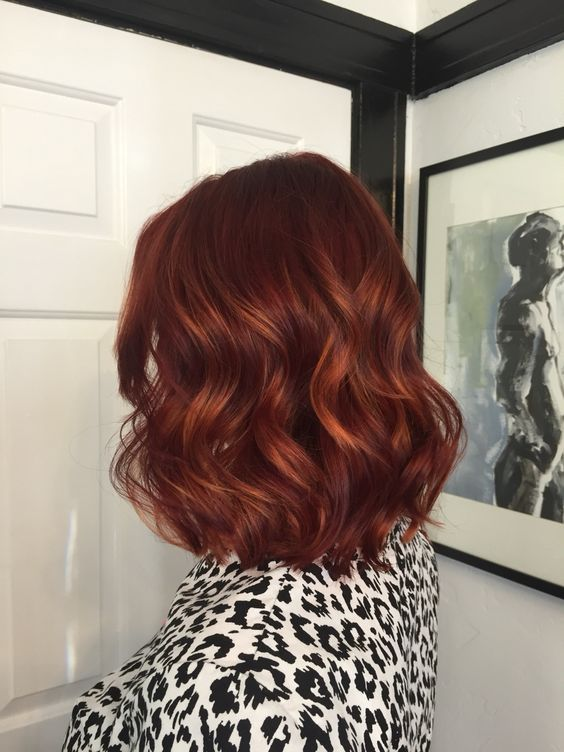 Rich Auburn Hair Color                                                                                                                                                                                 More