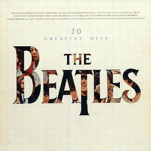 beatles album covers | The Beatles 20 Greatest Hits album cover