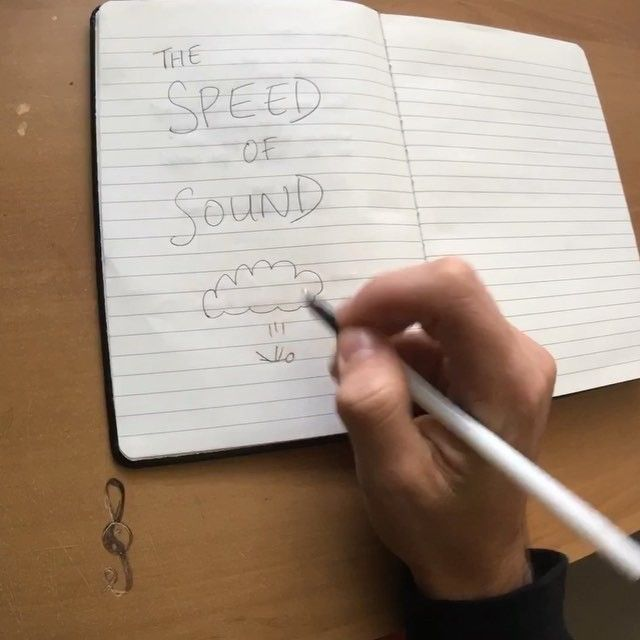 "CHRIS' Favourite song from our new EP is ""THE SPEED OF SOUND""! What's yours?!"