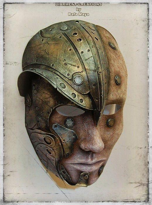Warrior Wizard Mask by Diarment.deviantart.com on @deviantART
