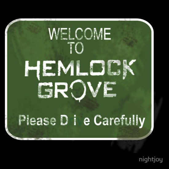 Hemlock Grove - ok gave it a chance and I love it! Second season is great! I want to be as cool as Roman Godfrey