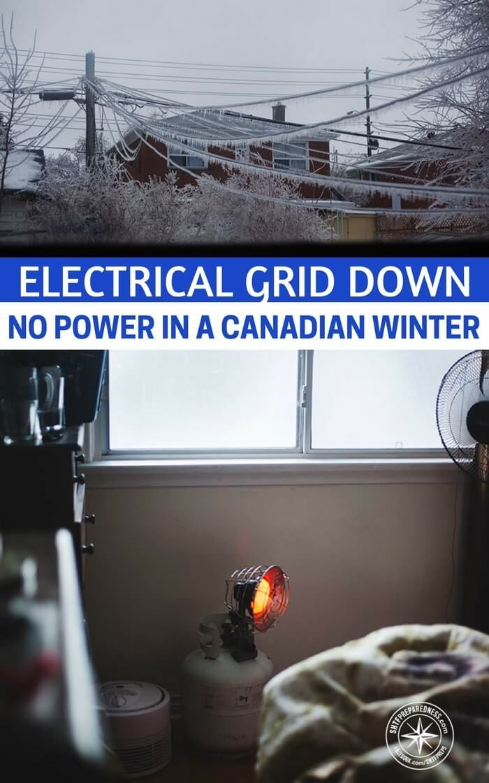 Electrical Grid Down – No Power in a Canadian Winter — What would happen in your area if the power went out in the dead of winter - not for minutes but for days #winterprep #prepping #prepper #preparedness