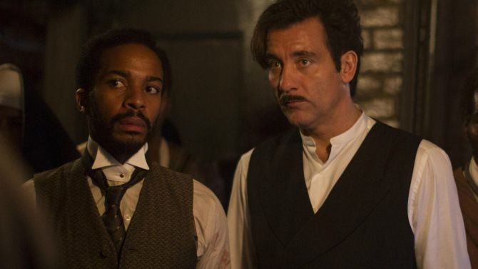Andre Holland Talks 'The Knick' and