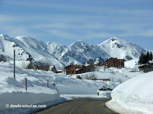 Esquiar en Asturias, Estación Valgrande Pajares San Isidro Fuentes de Invierno, Spain