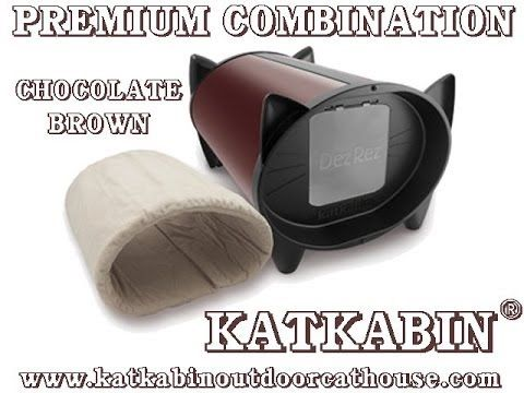 Chocolate brown premium combination katkabin insulated outdoor cat house - #premiumcombinationkatkabin #chocolatebrownkatkabin #insulatedoutdoorcatshelters #outdoorcatsheltersforsale #outdoorcatsheltersandfeedingstations #outdoorcatshelterforwinter #diyoutdoorcatshelter #outdoorcatshelterplans #outdoorcatshelterheated #feralvillaoutdoorcatshelter #insulatedoutdoorcathouse