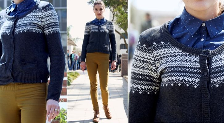 The Preppy Sweater