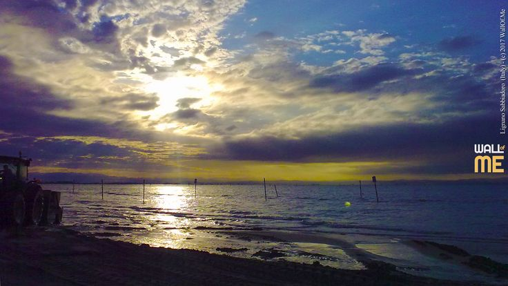2017, week 18. Sunset on Lignano Sabbiadoro (Italy),  Picture taken: 2011, 07