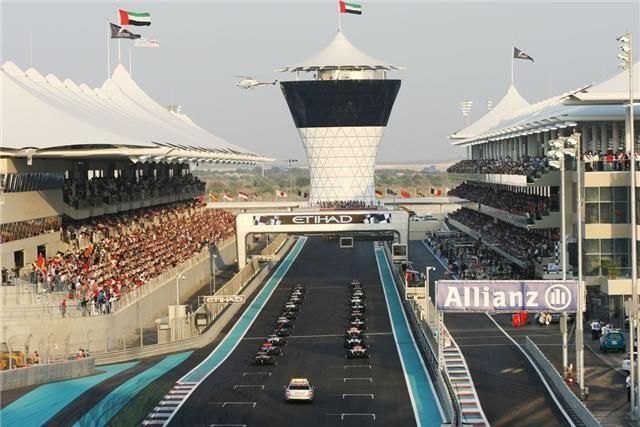 Abu Dhabi Grand Prix: Race Results