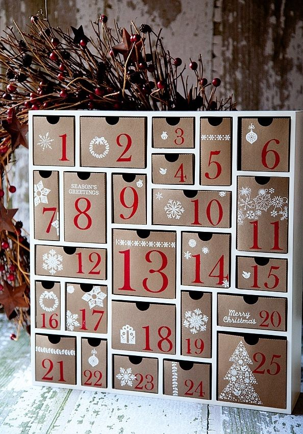 Calendar Sizes Ideas : Best homemade advent calendars ideas on pinterest