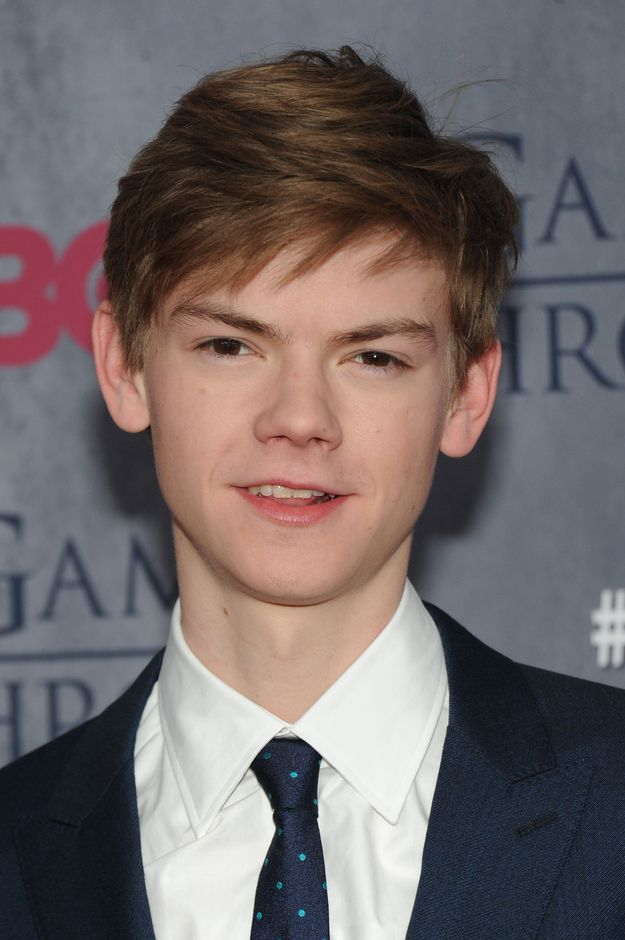 Thomas Brodie-Sangster (amazing hair) | Reminder: The Kid From Love Actually Is 23 Now