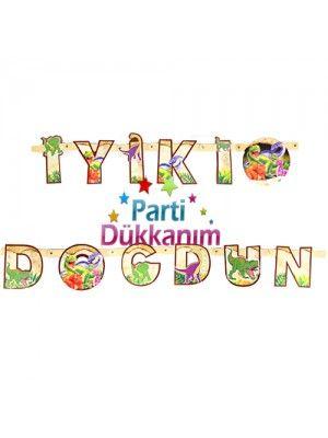 Dinozor İyiki Doğdun Yazısı (2 m.)