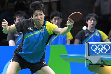 <五輪卓球>日本、決勝進出で男子団体初のメダル確定