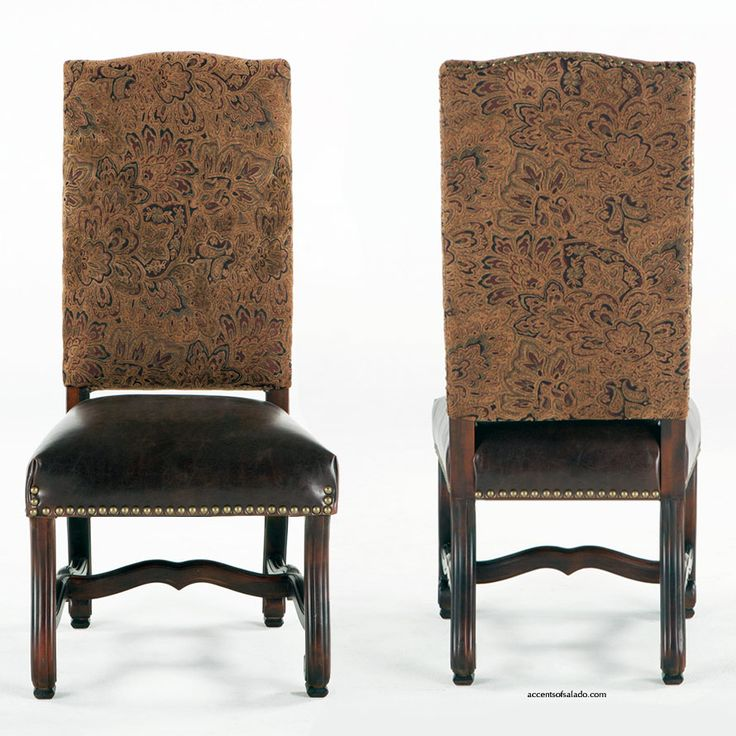 old world dining chairs at accents of salado antigua