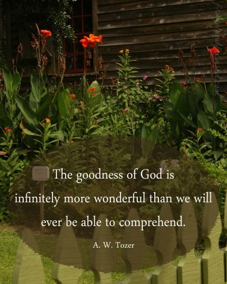 31 Days of Encouraging Quotes - The Goodness of God #31days #encouragement