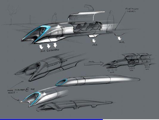 Hyperloop : Elon Musk dévoile son projet de moyen de transport terrestre supersonique