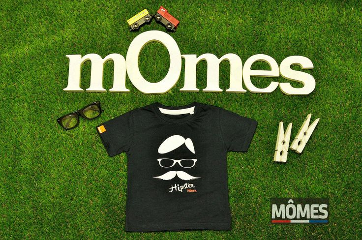 Momes design100% Certified Organic cotton boys kids T-Shirt nerd