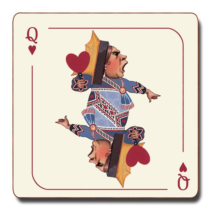 Queen of Hearts coaster by Avenida home at Galerie CO