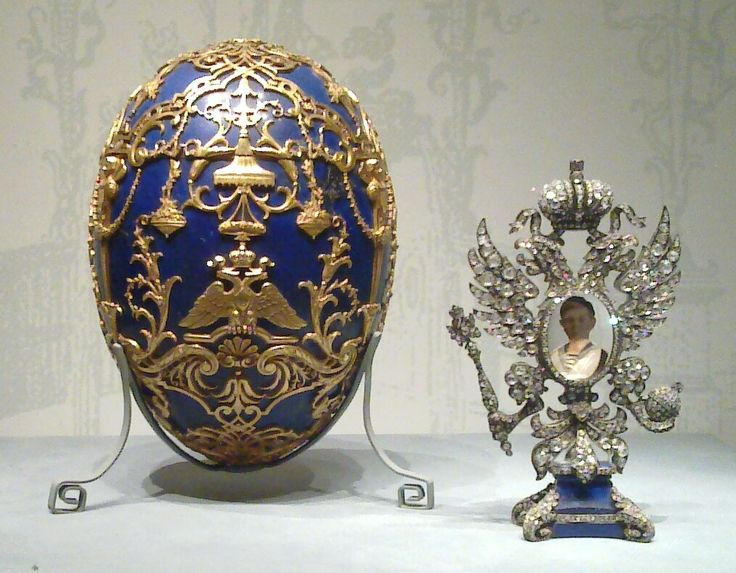 """The royal houses worldwide used (and do to this day) as part of your jewelry. A clear example is the beautiful commemorative egg made by Fabergé for the Russian royal family. Romanov. This is the Tsesarevich Imperial Easter Egg, from 1912, will be part of the """"Faberge Revealed"""" exhibit coming to Bellagio Gallery of Fine Art's starting in November. (Katherine Wetzel / Virginia Museum of Fine Arts / Courtesy photo)."""