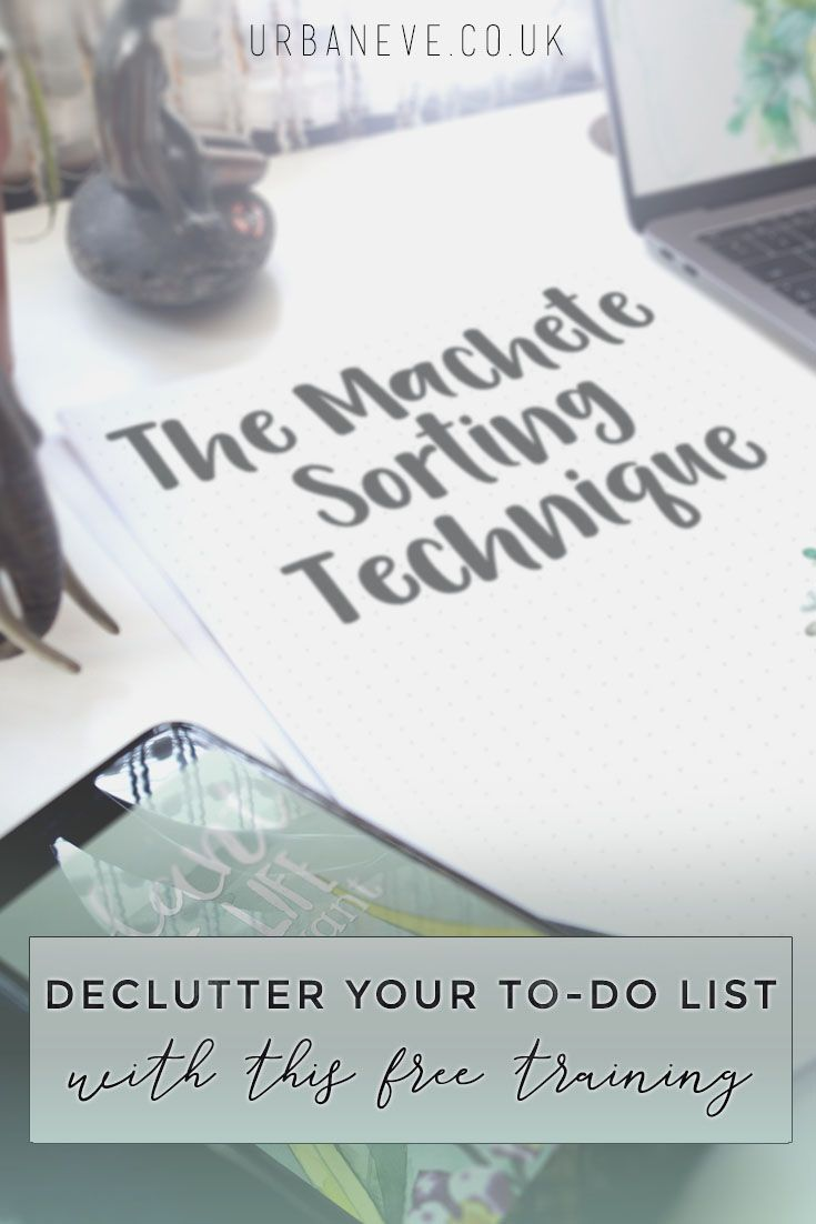 This free mini-course helps you create a manageable to-do list and get instant relief from the nagging feeling you get from never reaching the end of your tasks.